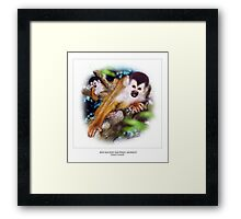 RED-BACKED SQUIRREL MONKEY 2 Framed Print