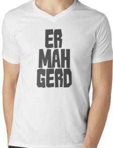 Er. Mah. Gerd. Mens V-Neck T-Shirt