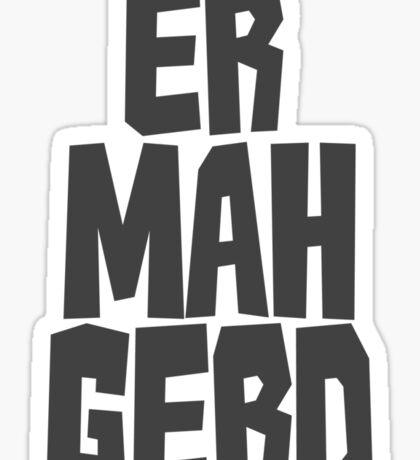 Er. Mah. Gerd. Sticker