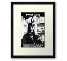 Sylvia Plath Framed Print