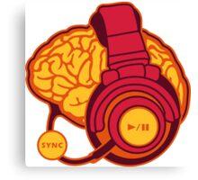Brain-Sync Canvas Print