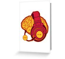 Brain-Sync Greeting Card