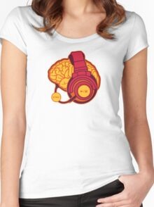 Brain-Sync Women's Fitted Scoop T-Shirt