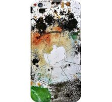 Chaos Mapping (Collaborative Drawing with Anna Lees) iPhone Case/Skin