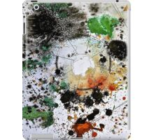 Chaos Mapping (Collaborative Drawing with Anna Lees) iPad Case/Skin