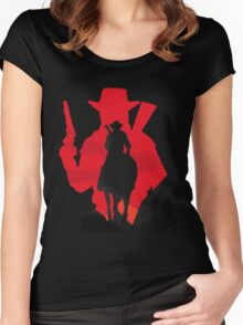 The Cowboy Women's Fitted Scoop T-Shirt