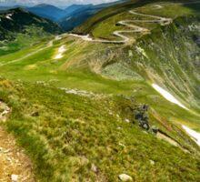 Parang mountains in Romania Sticker