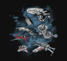 Ultimate Space Fleet by MeleeNinja