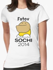 Fatov - Sochi 2014 Womens Fitted T-Shirt