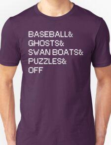 Bacon Strips Parody - WHITE T-Shirt