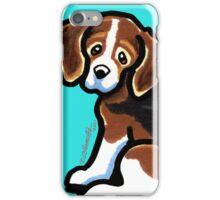 Tricolor Beagle Profile iPhone Case/Skin
