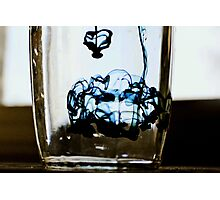 oil and water Photographic Print