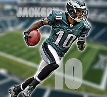 Desean Jackson iPad Case by legendarygfx