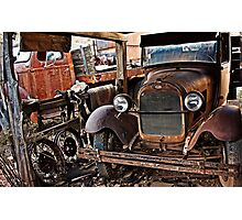 Another Rusty Old Truck Photographic Print