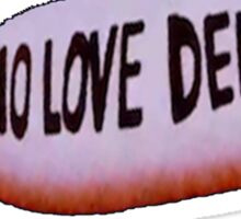 DEATH GRIPS TEE - 'NOLOVEDEEPWEB' MISSILE Sticker