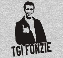 TGI Fonzi - Happy Days Tribute Shirt by printproxy
