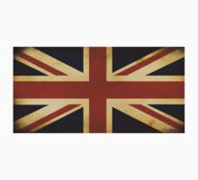 Retro vintage Union Jack T-shirt Kids Clothes