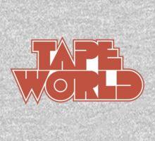 Retro Tape World One Piece - Long Sleeve