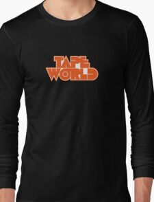 Retro Tape World Long Sleeve T-Shirt