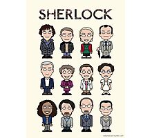 Sherlock and Friends (poster or print) Photographic Print