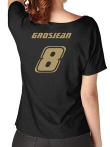 Grosjean 8 Women's Relaxed Fit T-Shirt