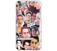 Teen Wolf: Dylan O' Brien iPhone Case/Skin