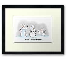 The Snowman Interpreter Framed Print