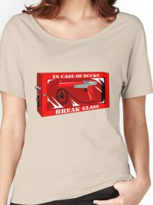 In case of ducks  Women's Relaxed Fit T-Shirt