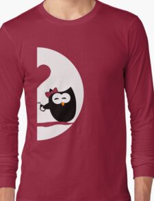 Valentine's Day - Owls in love GIRL Long Sleeve T-Shirt