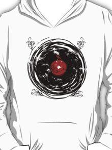 Enchanting Vinyl Records Vintage Twirls T Shirt T-Shirt