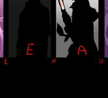 Dead End Sticker