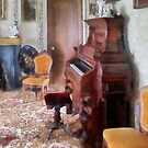 Organ in Victorian Parlor by Susan Savad