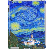 Starry Starry Night with Temple 20x30 iPad Case/Skin