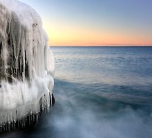 Frozen Over, Lake Superior by Michael Treloar