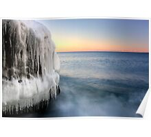 Frozen Over, Lake Superior Poster