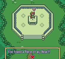 Piece of My Heart (The Legend of Zelda) by enthousiasme