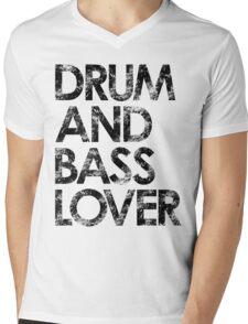 Drum & Bass Lover Mens V-Neck T-Shirt