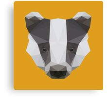 Badger Love Canvas Print