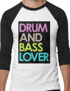 Drum & Bass Lover Men's Baseball ¾ T-Shirt
