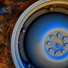 Tractor Wheel by Mark Malinowski