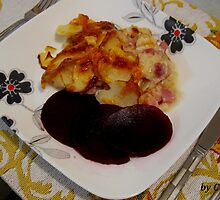 SCALLOPED HAM AND POTATOES by FL-florida
