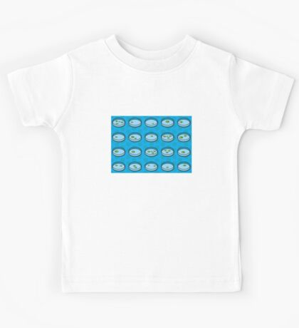 Pop Art Petri Dish Pattern Kids Tee