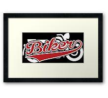 Biker Framed Print