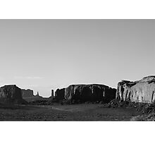 Monument Valley (3): Wild West Photographic Print