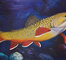 Brook Trout by Poppy Goforth