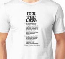 Faraday's laws of electrolysis Unisex T-Shirt