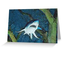 The Shark Infested Forest  Greeting Card