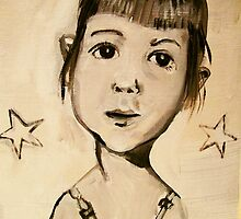 Mariah at four years by donnamalone