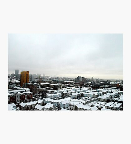 Snowy Boston Photographic Print