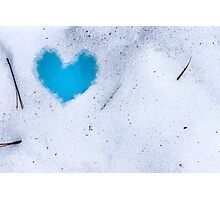 Cold Heart Photographic Print